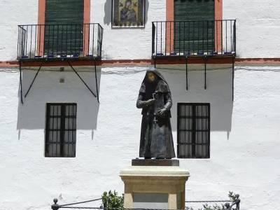 MONUMENTO A SANTA ÁNGELA DE LA CRUZ. CARMONA